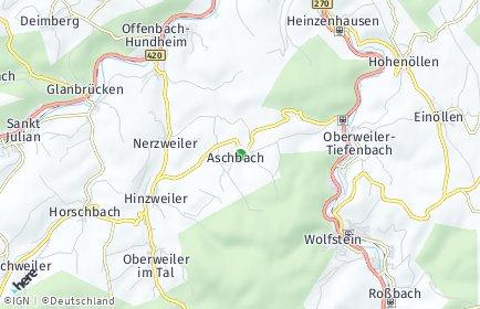 Stadtplan Aschbach