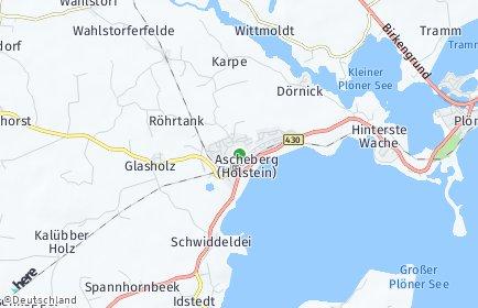 Stadtplan Ascheberg (Holstein)