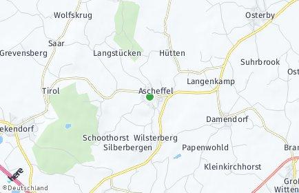 Stadtplan Ascheffel