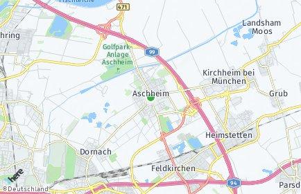 Stadtplan Aschheim