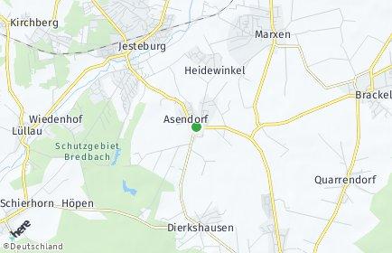 Stadtplan Asendorf (Nordheide)