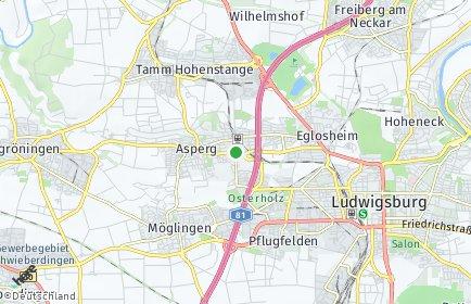 Stadtplan Asperg