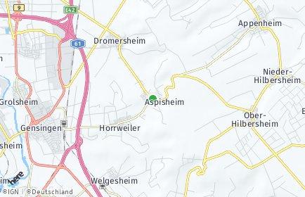 Stadtplan Aspisheim