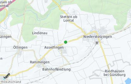 Stadtplan Asselfingen