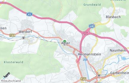 Stadtplan Aßlar