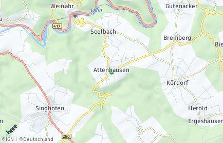 Stadtplan Attenhausen