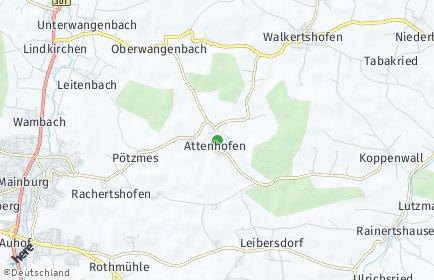 Stadtplan Attenhofen