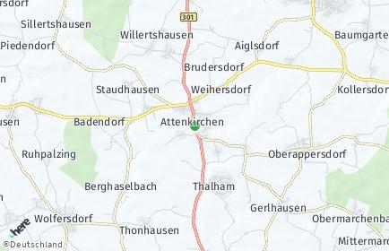 Stadtplan Attenkirchen