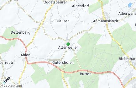 Stadtplan Attenweiler