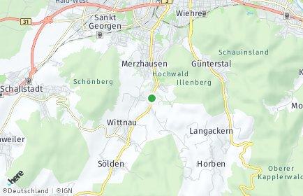 Stadtplan Au (Breisgau)