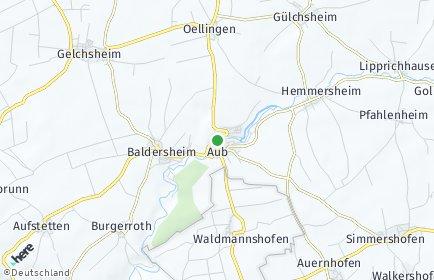 Stadtplan Aub