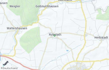 Stadtplan Aubstadt