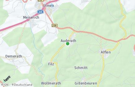 Stadtplan Auderath