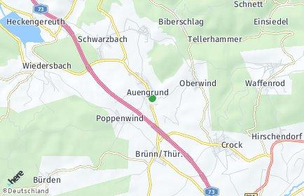 Stadtplan Auengrund