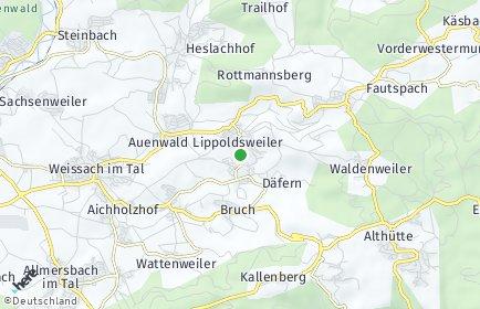 Stadtplan Auenwald