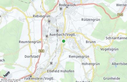 Plz Auerbach Vogtland Sachsen Postleitzahlen 08209 Vogtlandkreis