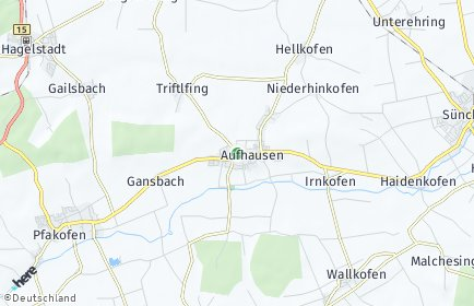 Stadtplan Aufhausen