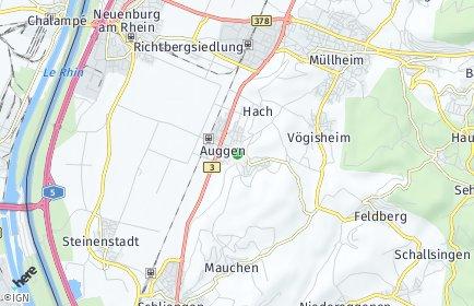 Stadtplan Auggen