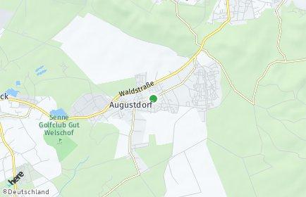 Stadtplan Augustdorf