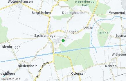 Stadtplan Auhagen