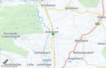 Stadtplan Auhausen