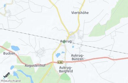 Stadtplan Aukrug
