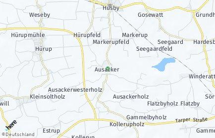 Stadtplan Ausacker