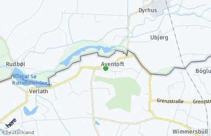 Stadtplan Aventoft