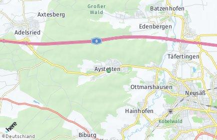 Stadtplan Aystetten