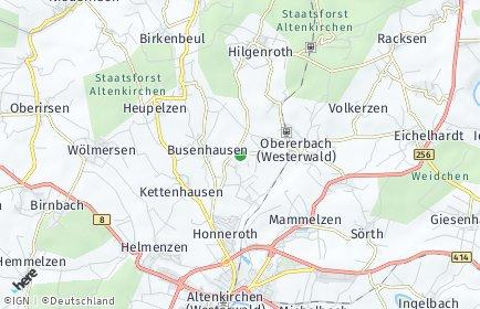 Stadtplan Bachenberg