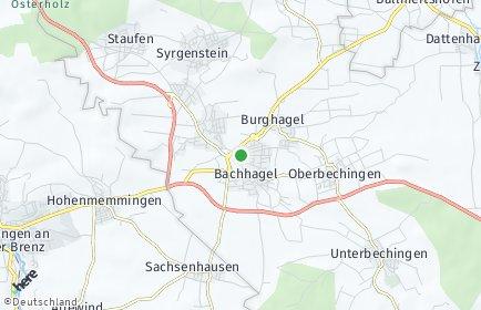 Stadtplan Bachhagel