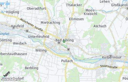 Stadtplan Bad Aibling OT Markfeld