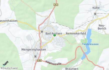 Stadtplan Bad Arolsen