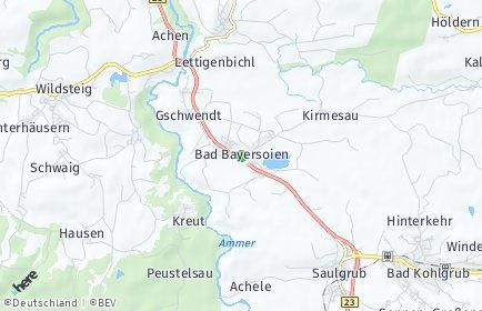 Stadtplan Bad Bayersoien