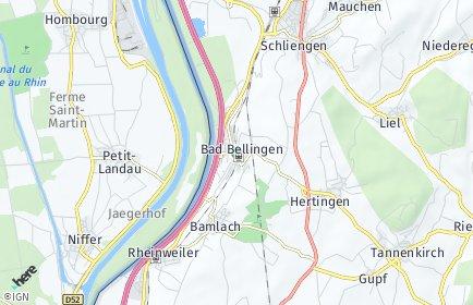 Stadtplan Bad Bellingen
