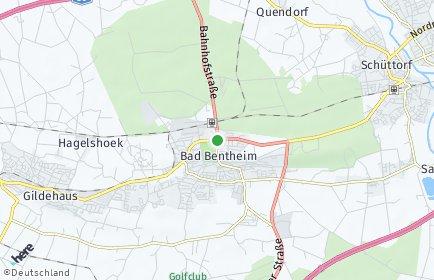 Stadtplan Bad Bentheim