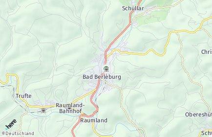 Stadtplan Bad Berleburg OT Aue