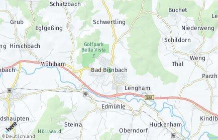 Stadtplan Bad Birnbach