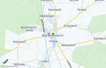 Stadtplan Bad Bodenteich