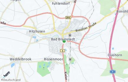 Stadtplan Bad Bramstedt