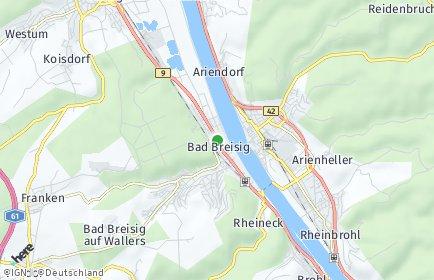 Stadtplan Bad Breisig