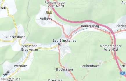 Stadtplan Bad Brückenau