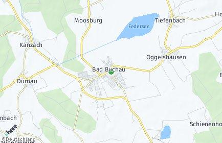 Stadtplan Bad Buchau