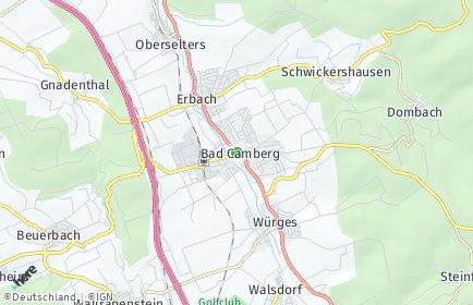 Stadtplan Bad Camberg
