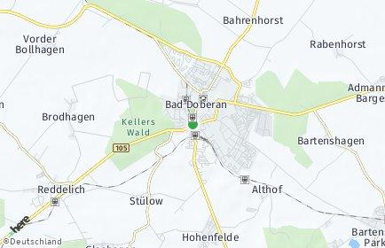Stadtplan Bad Doberan