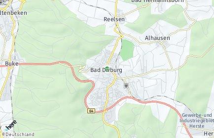 Stadtplan Bad Driburg