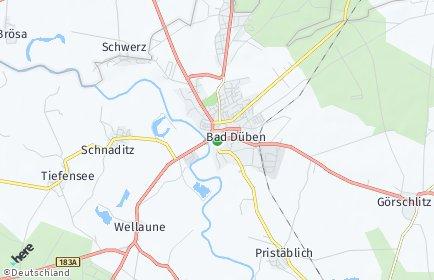 Stadtplan Bad Düben