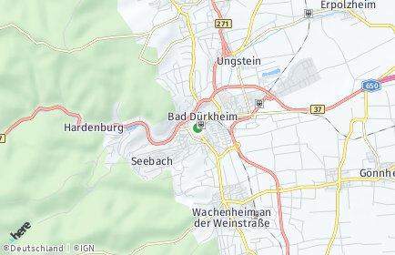 Stadtplan Bad Dürkheim