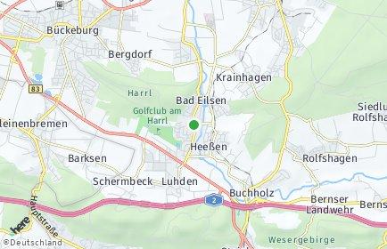 Stadtplan Bad Eilsen