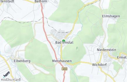 Stadtplan Bad Emstal